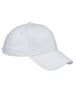6-Panel Structured Twill Cap