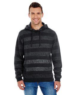 Men's Printed Stripe Marl Pullover