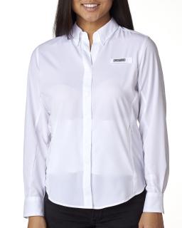 Ladie's Tamiami™ Ii Long-Sleeve Shirt