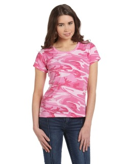 Ladie's Camouflage T-Shirt