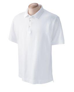 Men's Pima Pique Short-Sleeve Polo