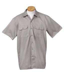 Men's 5.25 Oz. Short-Sleeve Work Shirt