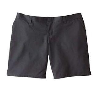 "6.75 Oz. Womens 9"" Flat Front Short"
