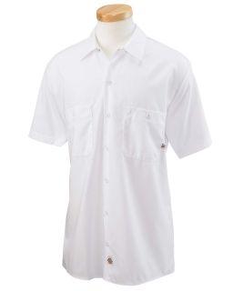 Mens 4.25 Oz. Industrial Short-Sleeve Work Shirt