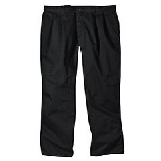8 Oz. Relaxed Fit Cotton Pleated Front Pant