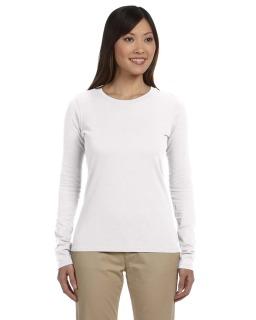 Ladie's 4.4 Oz., 100% Organic Cotton Classic Long-Sleeve T-Shirt