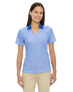 Ladie's Eperformance™ Launch Snag Protection Striped Polo