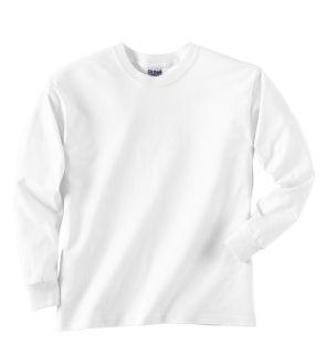 Youth Ultra Cotton®6 Oz. Long-Sleeve T-Shirt