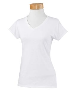 Ladie's Softstyle® 4.5 Oz. Fitted V-Neck T-Shirt