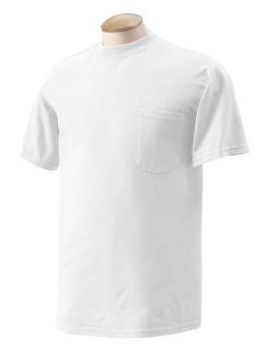 Adult Dryblend® 5.6 Oz., 50/50 Pocket T-Shirt