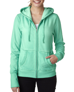 Ladies Ladies Oasis Wash Full-Zip Hood