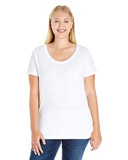 Ladie's Curvy Premium Jersey T-Shirt