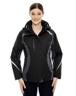 Ladie's Height 3-In-1 Jacket With Insulated Liner