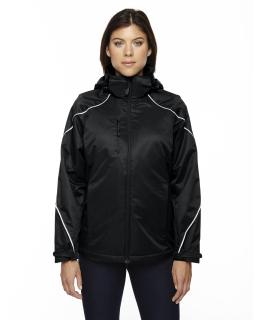 Ladies Angle 3-In-1 Jacket With Bonded Fleece Liner
