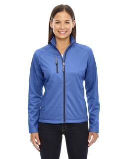 Ladies Trace Printed Fleece Jacket