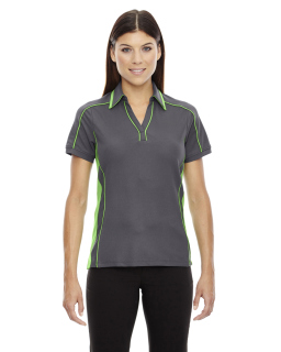 Ladie's Sonic Performance Polyester Pique Polo
