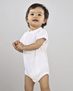Infant Sublivie Infant Sublimation Polyester Bodysuit