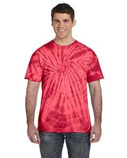 Adult 5.4 Oz., 100% Cotton Spider Tie Dye T-Shirt