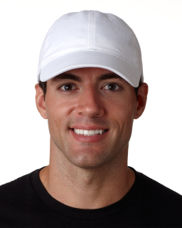 Adult Classic Cut Brushed Cotton Twill Unstructured Cap