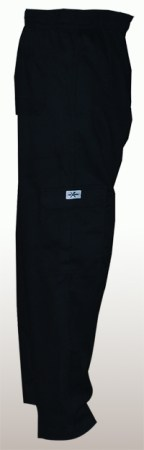 Charcoal Cargo Pocket Chef Pant