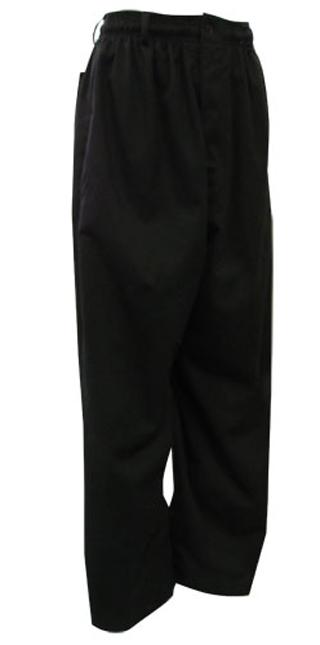 Black Baggy Chef Pants