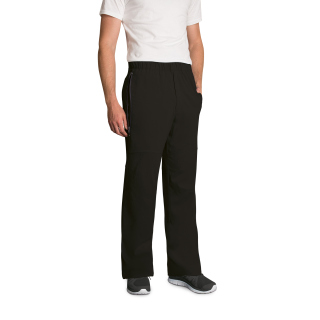 Mens 6 Pocket Moto Zip Front Pant