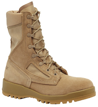 Hot Weather Tan Safety Toe Boot