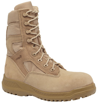 Hot Weather Tan Tactical Safety Toe Boot