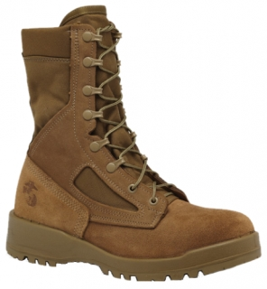 Hot Weather Olive Green Safety Toe Boot - USMC