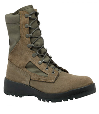 Hot Weather Sage Green Combat Boot - USAF