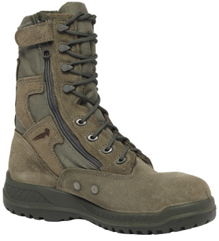 Hot Weather Tactical Side Zipper Safety Toe Boot - USAF