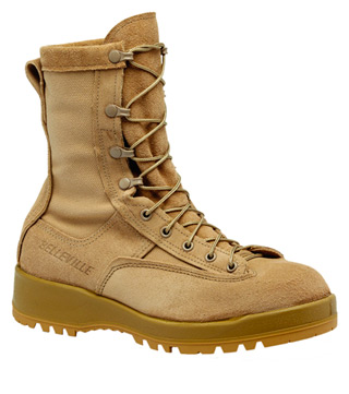 Waterproof Tan Safety Toe Boot
