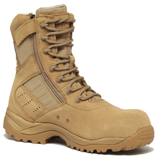 Hot Weather Lighweight Side-Zip Composite Toe Boot