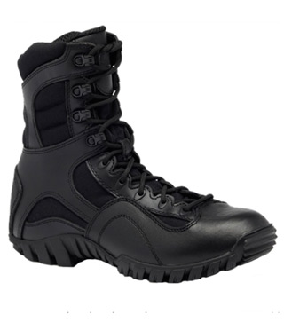 Hot Weather Lightweight Waterproof Side-Zip Tactical Boot