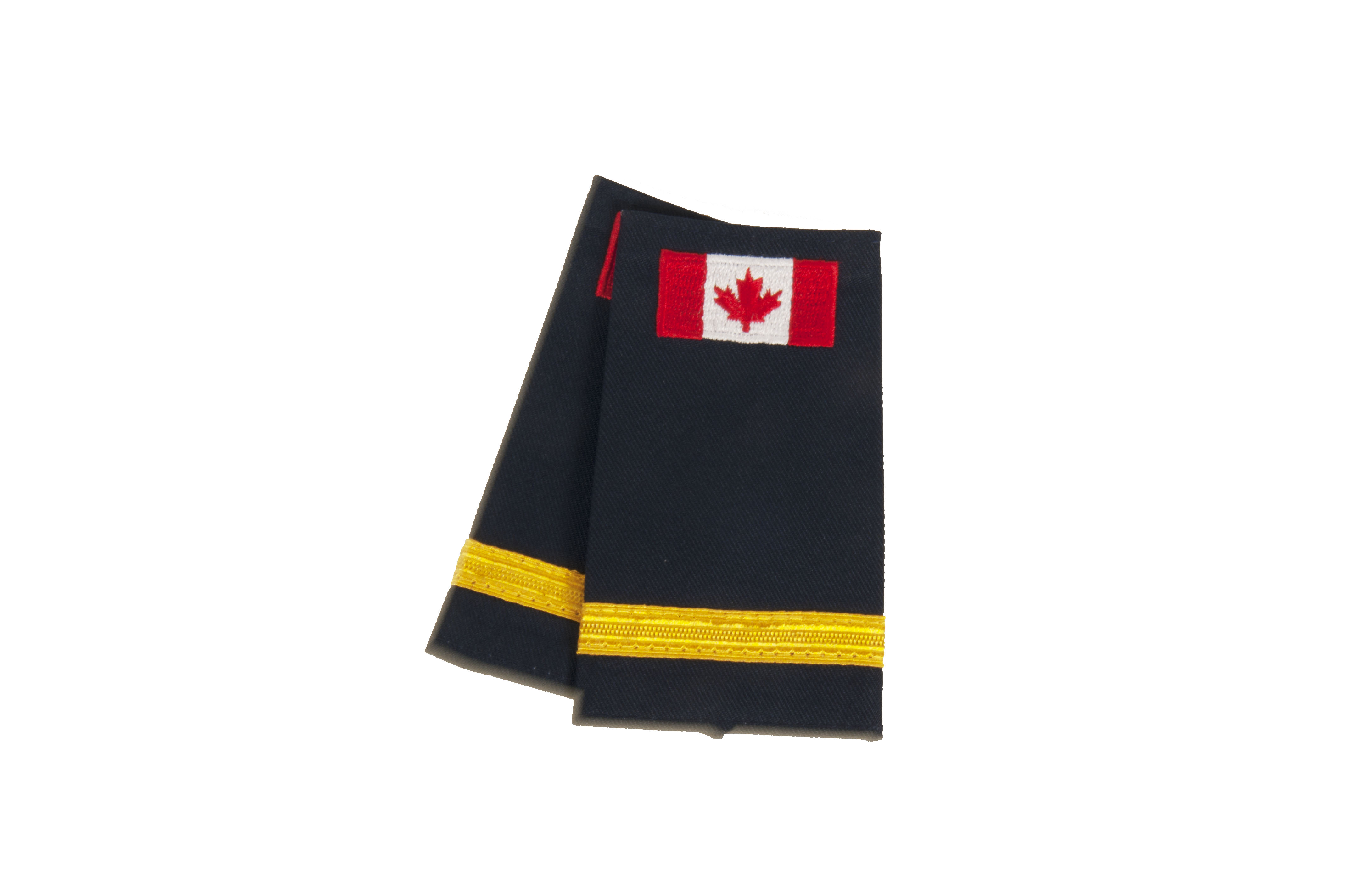 Lieutenant Slip-On with Canadian Flag (No Text)