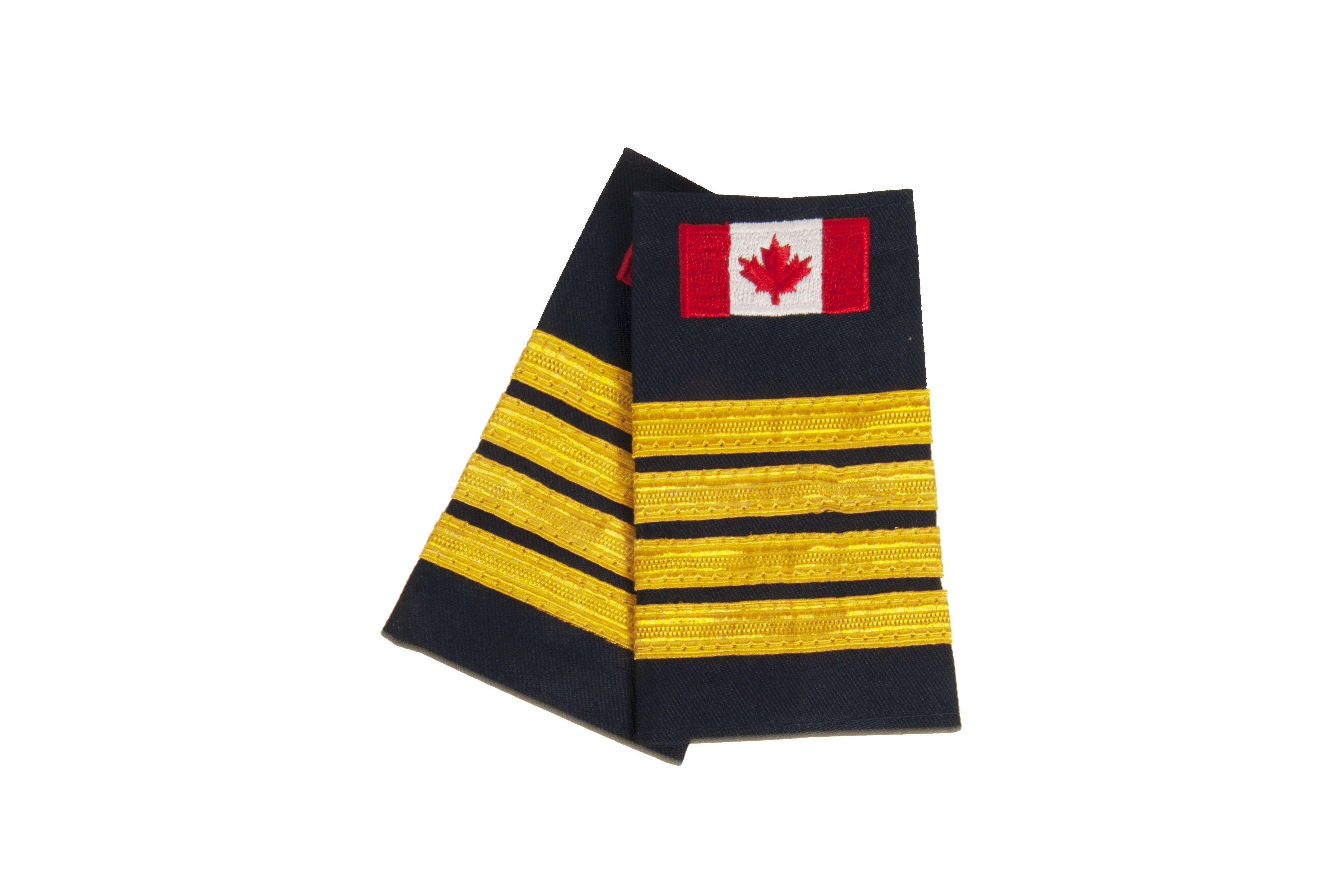 Deputy Chief Slip-On with Canadian Flag (No Text)