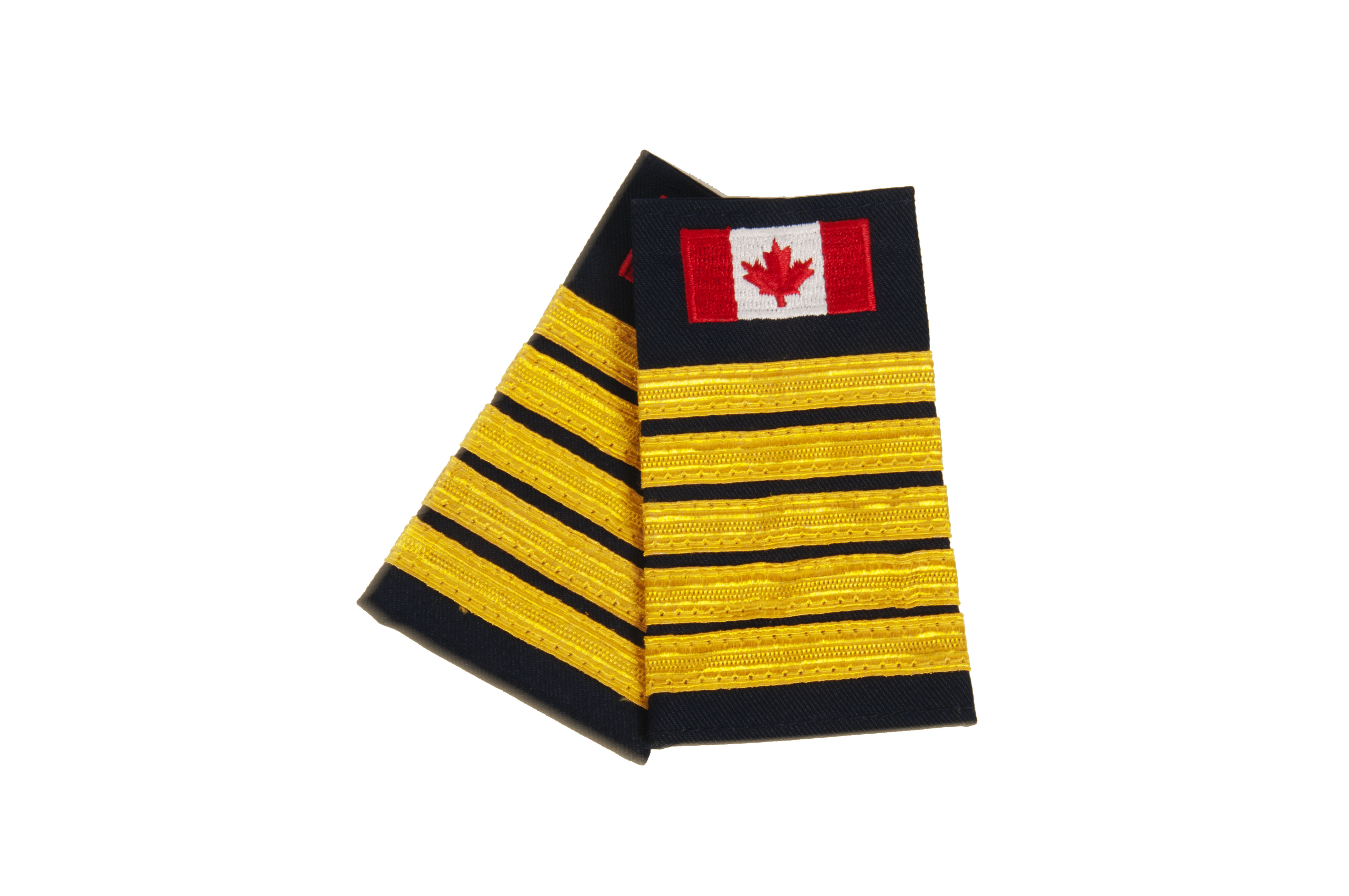 Fire Chief Slip-On with Canadian Flag (No Text)