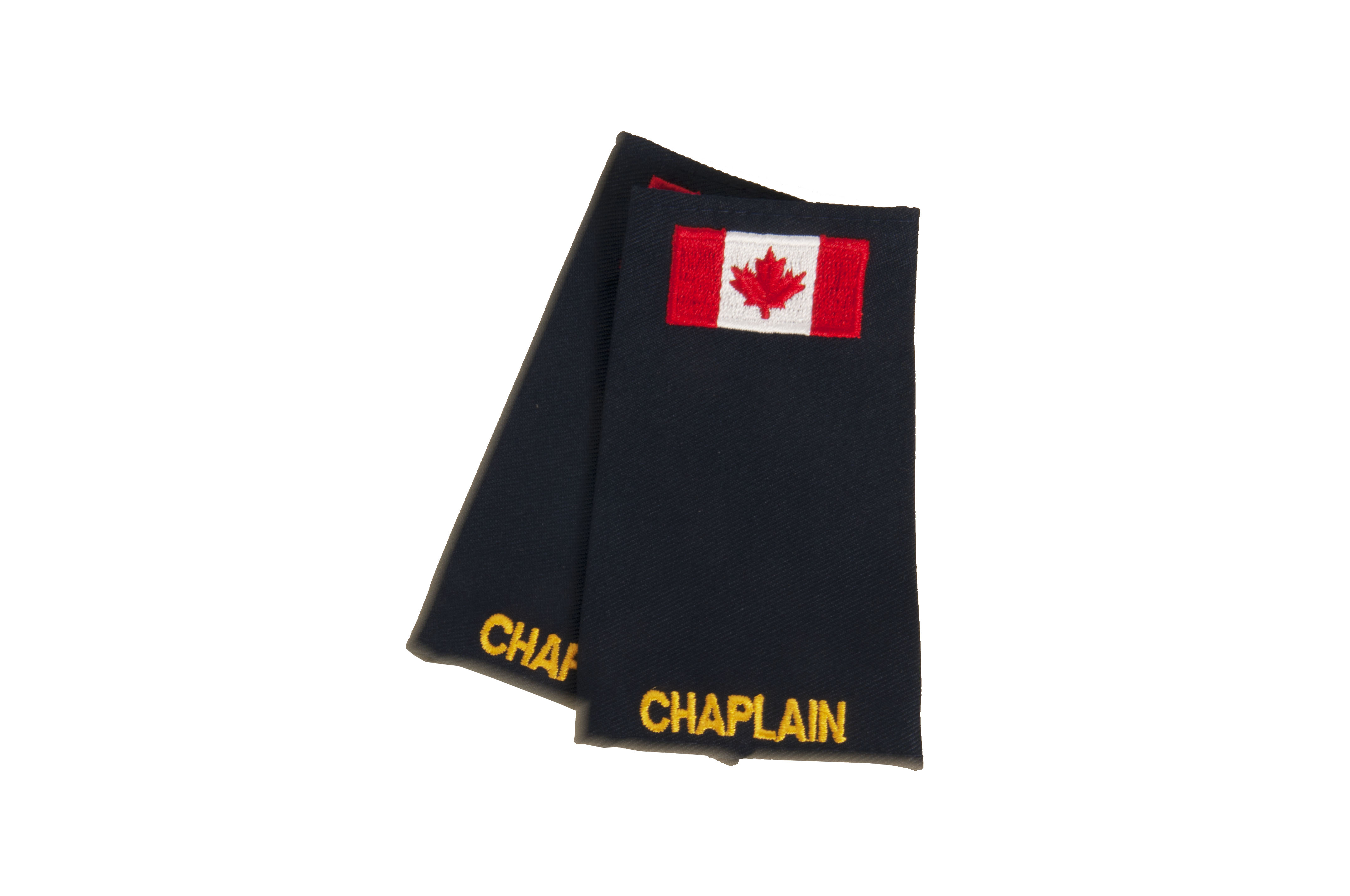 Chaplain Slip-On with Canadian Flag