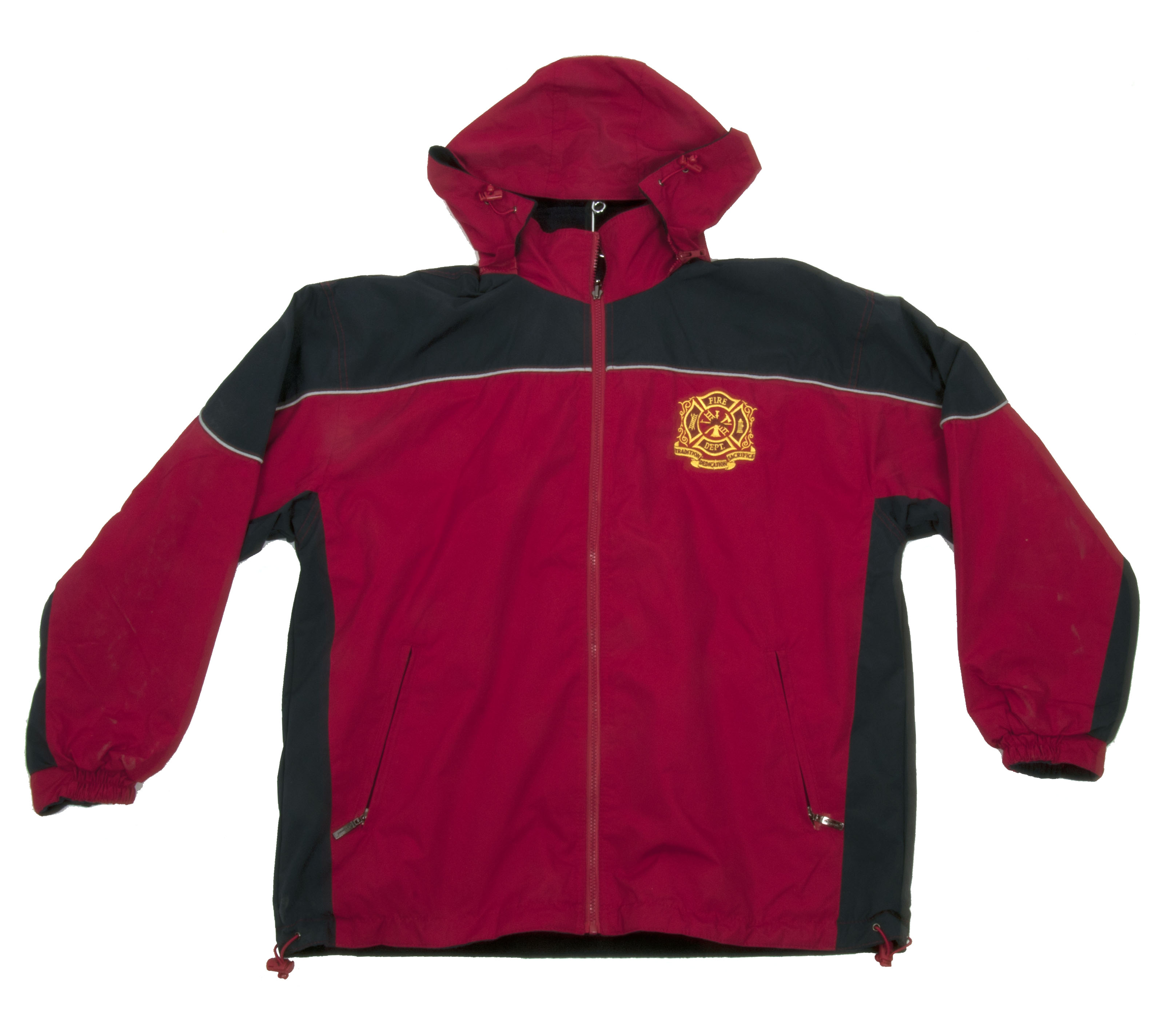 Fire Department Reversible Jacket (Red/Black)