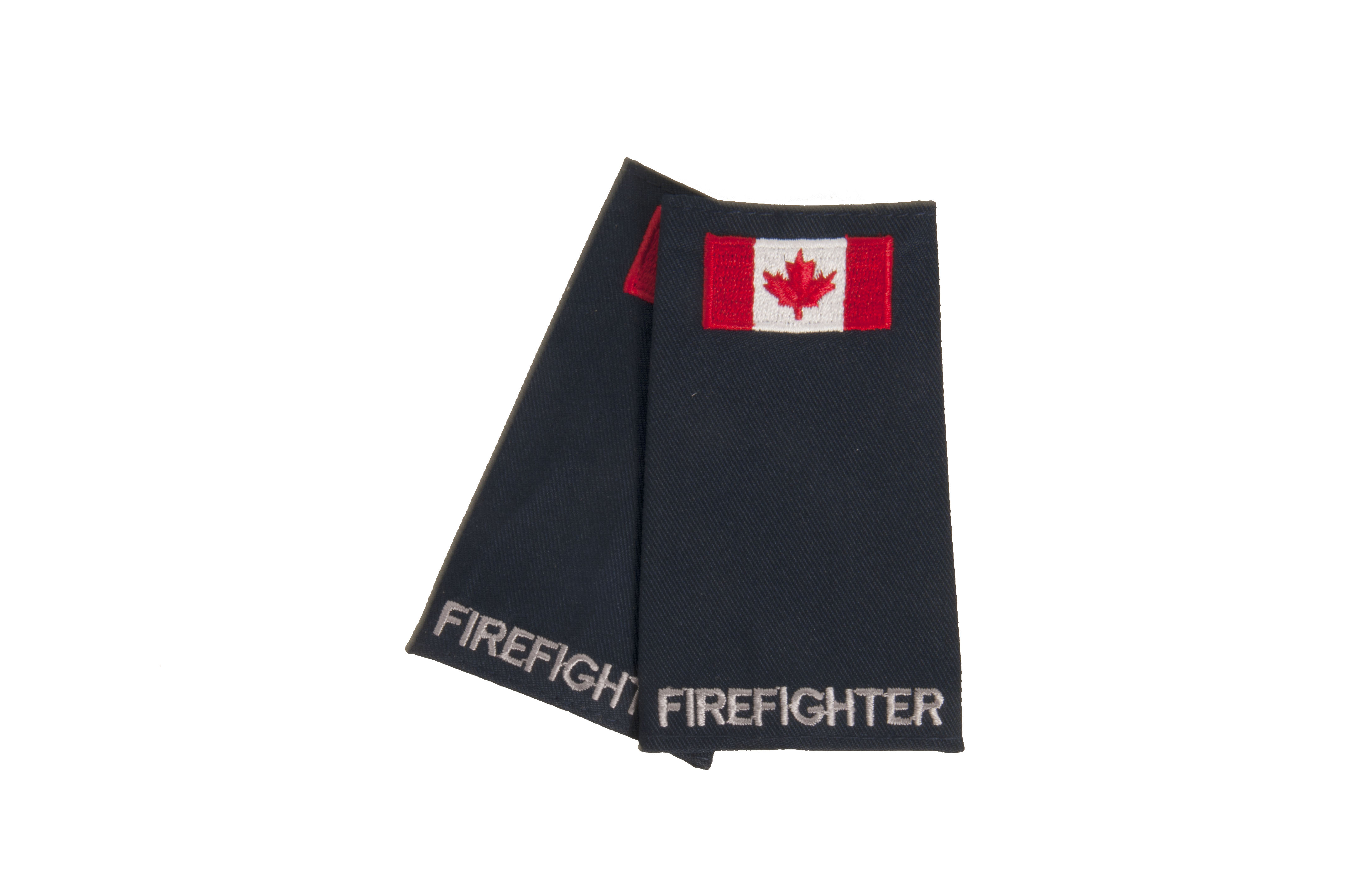 Firefighter Slip-On with Canadian Flag