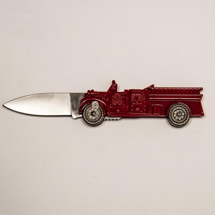 Fire Truck Utility Knife