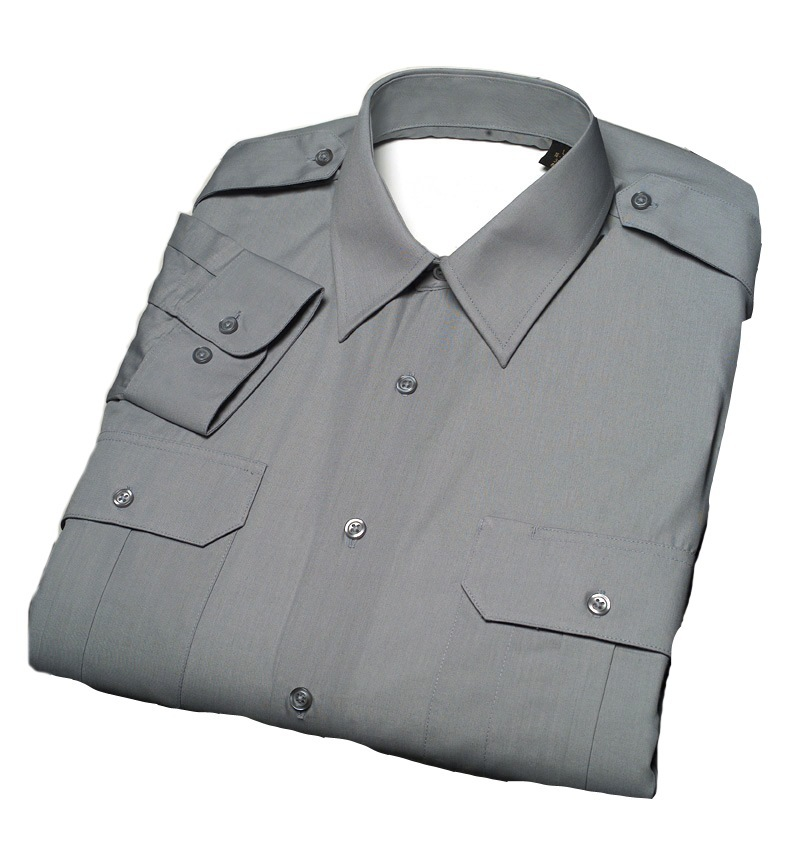 Male Military-Style Short Sleeve Duty Shirt