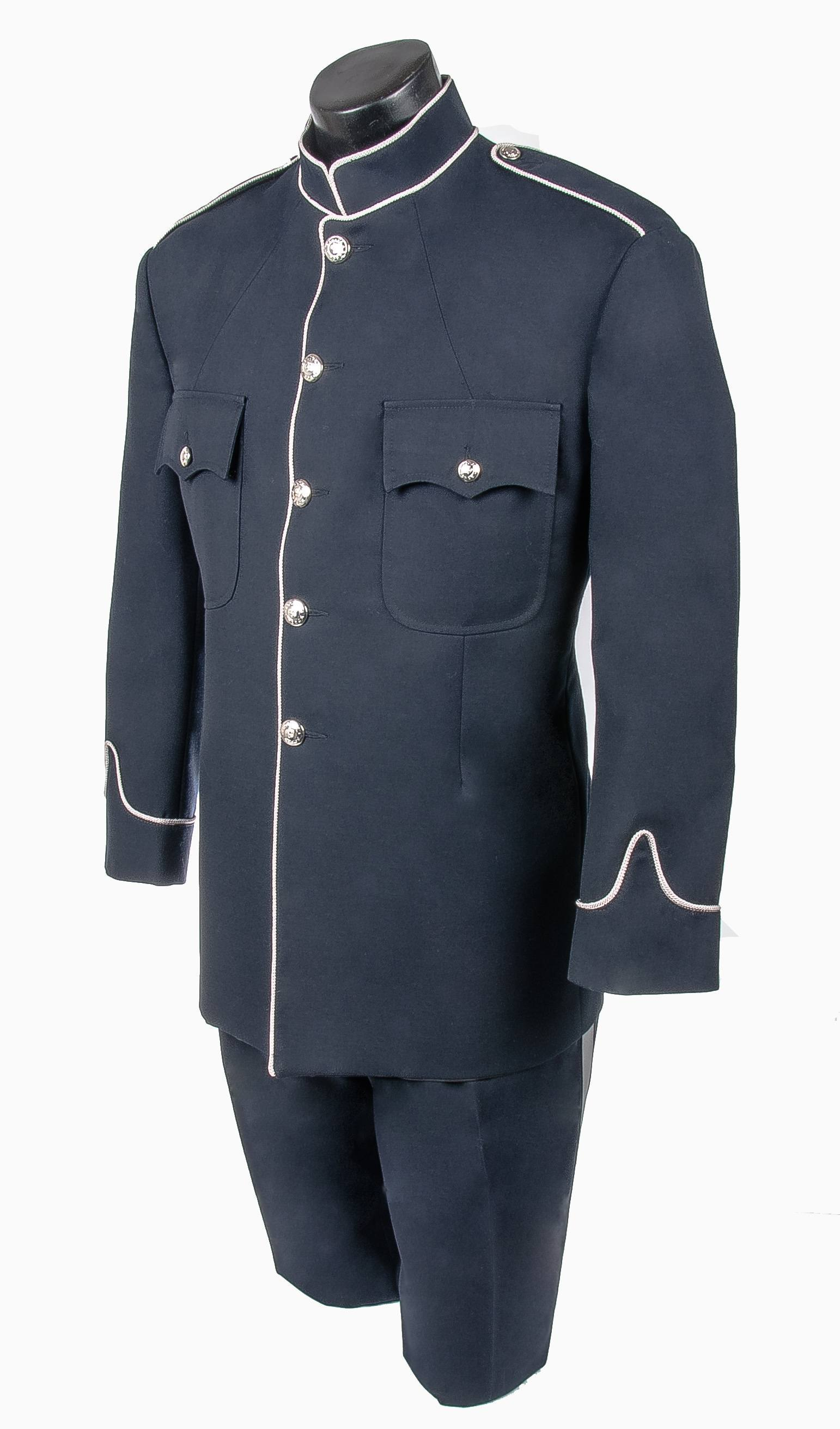 Peace Officer High Collar Tunic Jacket