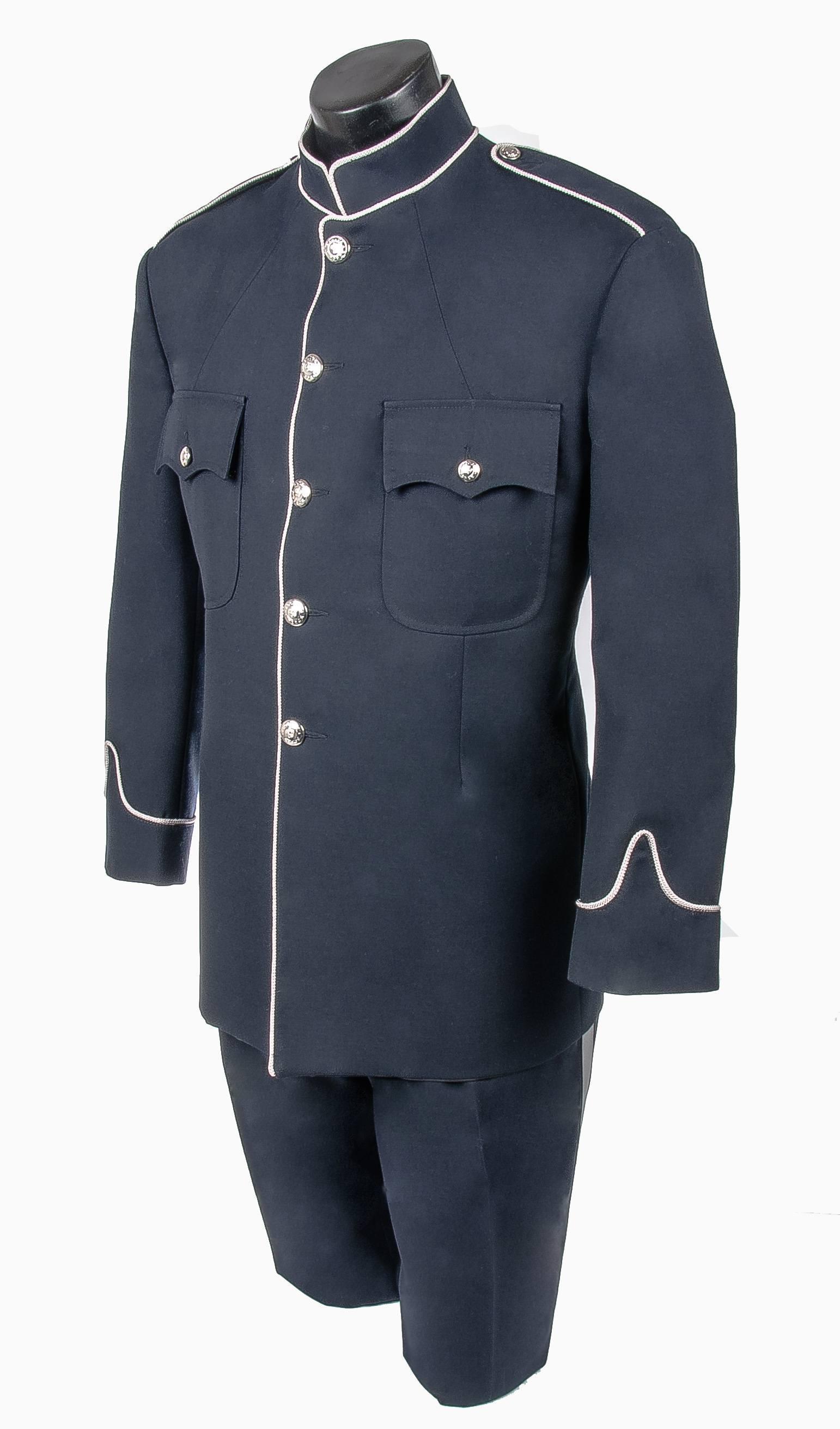 Fire Honour Guard High Collar Tunic