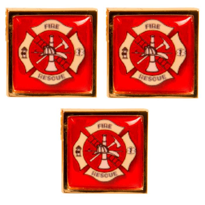 Maltese Cross Stud (Set of 3)