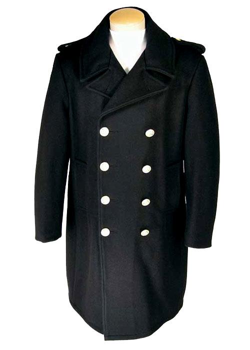 Men's Wool Double Breasted Overcoat