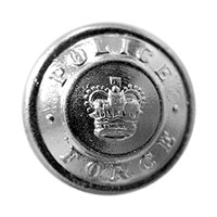 Small Silver Button