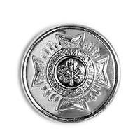 CAFC Button Small Silver