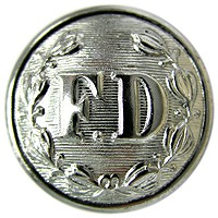 FD Large Silver Button