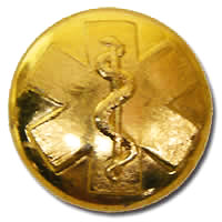 EMS Gold Large Button